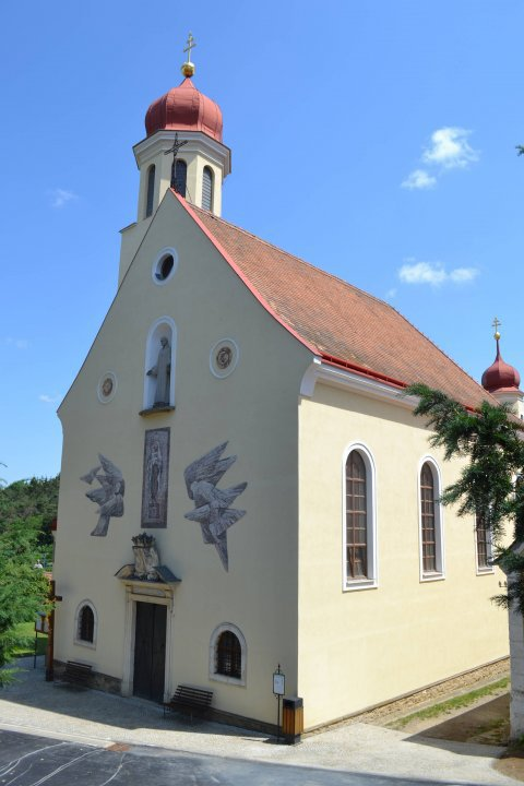 Church of Virgin Mary´s Visitation in Hluboké Mašůvky